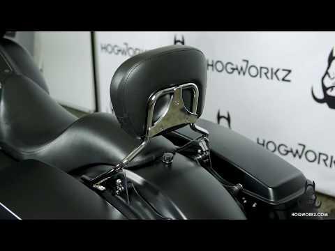 HogWorkz - Sissybar w/ Backrest Quick Detachable Installation