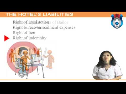 THE HOTEL'S LIABILITIES  HL 6)
