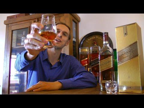 Degustando #034: Whisky Review Johnnie Walker Gold Label 18 anos