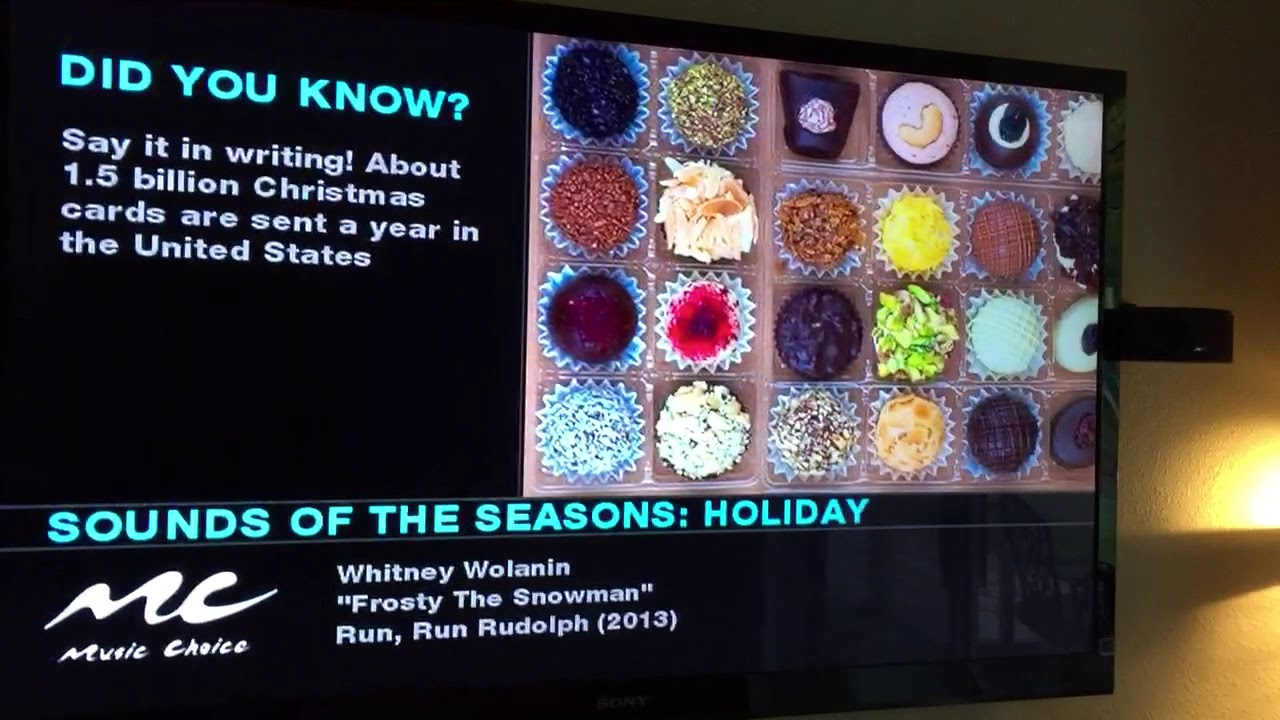 Music Choice Christmas 2020 Music Choice sounds of the seasons holiday 2017 supposed to be the
