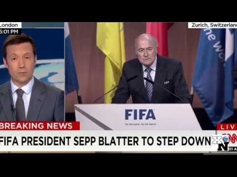 Sepp Blatter Resigns - Sepp Blatter FIFA President step down of Corruption Scandal [Renuncia]