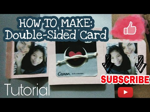 Double-Sided Card Tutorial from YouTube · Duration:  7 minutes 4 seconds
