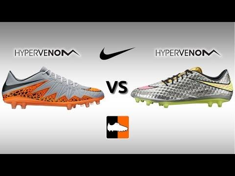 Nike Hypervenom Phinish vs. Phantom 1 Football Boots Comparison
