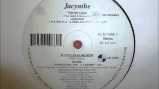 Jacynthe - Try My Love