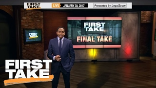Carmelo Should Direct Media Questions To Phil Jackson | Final Take | First Take | January 30, 2017