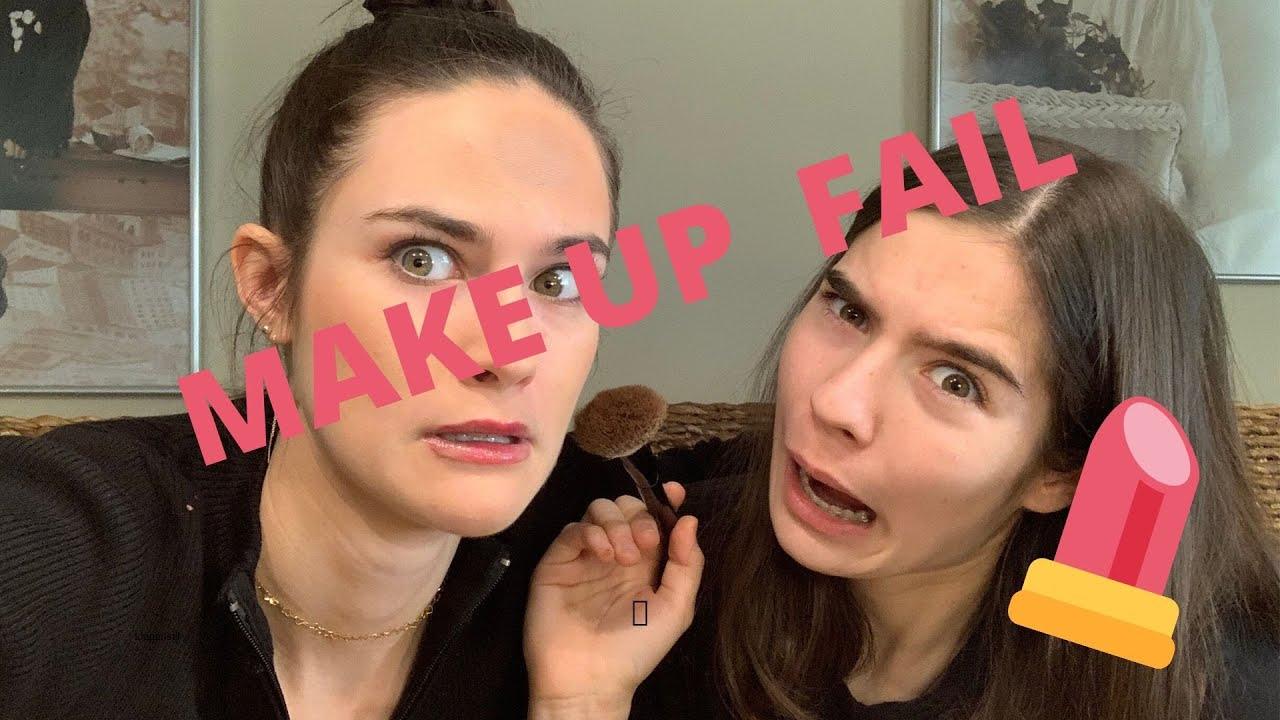 Meine Schwester schminkt mich 👄💄 - YouTube