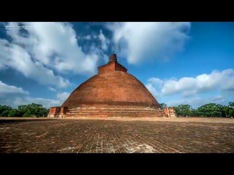 First 4K Timelapse video of Sri Lanka - Jethawanarama Dagoba