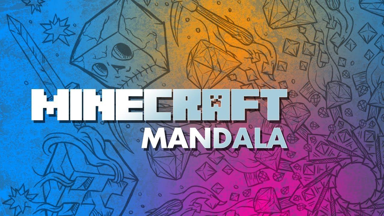 Minecraft Mandala Circular Pattern Youtube