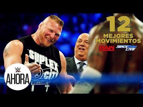 12 mejores movimientos de Raw & SDLive: WWE Ahora, Septiembre 18, 2019