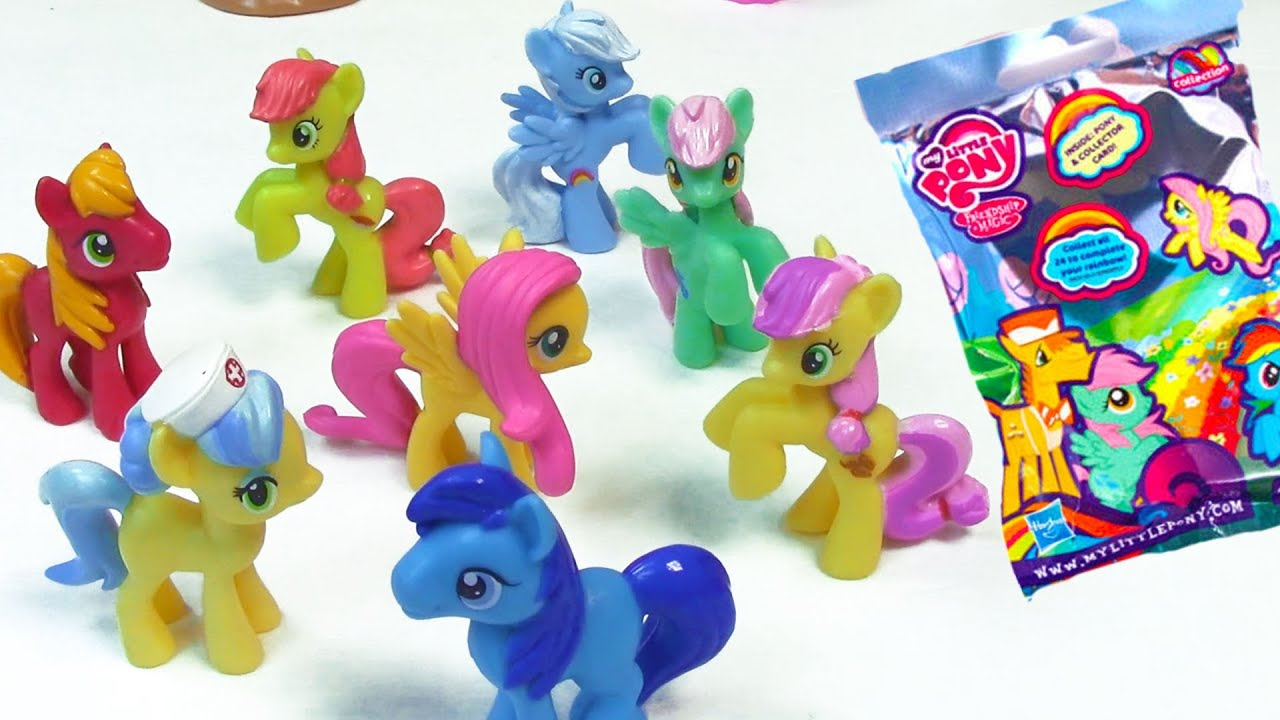 My Little Pony Wave 9 Blind Bag MLP Collection Rainbow Pastel
