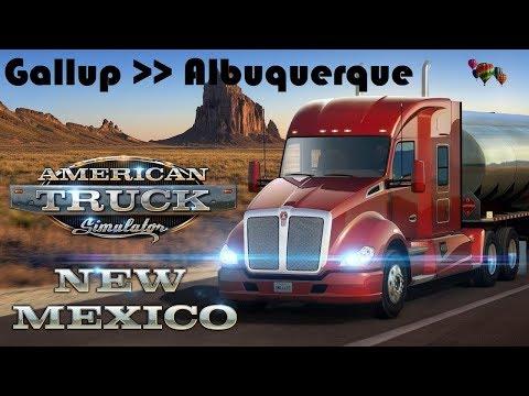 American Truck Simulator - New Mexico DLC / Gallup - Albuquerque with Peterbilt 579 |