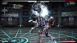 Mortal Kombat X - Рейден Вытеснитель Комбо Урок (Raiden Displacer)