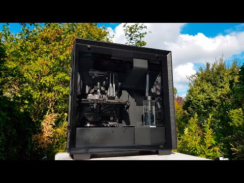 first-watercooling-pc-build-[-black-|-quiet-]-💧⚫