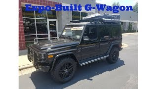 I'm Driving an Affordable Lifted Mercedes G-Wagon That Costs Less Than A Ford F150.