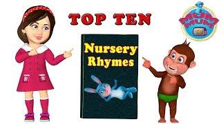 Top 10 Popular Nursery Rhymes Songs   Wheels on the Bus and more Kids Songs   Mum Mum TV thumbnail