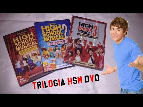 [DVD] HIGH SCHOOL MUSICAL TRILOGIA
