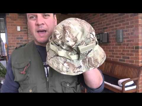 PENTAGON SAFARI VEST AND BOONIE HAT - YouTube da3fa436d72