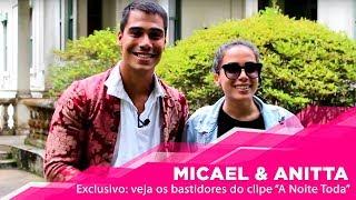 Baixar Exclusivo: Micael e Anitta nos bastidores do clipe