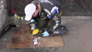 СВОИМИ РУКАМИ: Восстановление краски, полировка выгоревшей краски(Восстановление краски на пластике скутера ГРАНИТНЫЕ ПАМЯТНИКИ, ЛЮБЫЕ ИЗДЕЛИЯ ИЗ КАМНЯ, БРУСЧАТКА - http://monumen..., 2013-02-26T07:38:45.000Z)