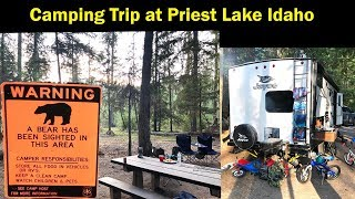 RV Camping Priest Lake Idaho Luby Bay Campground vlog