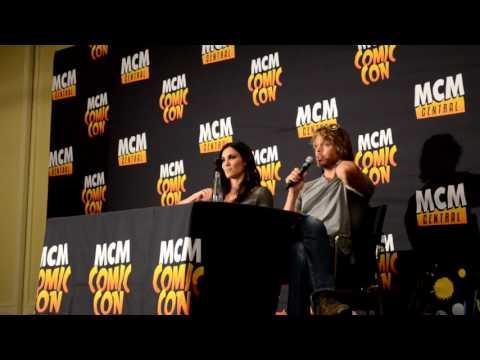 Eric Christian Olsen & Daniela Ruah at MCM Comic Con Hannover