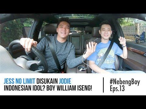 #NebengBoy Eps. 13 - Jess No Limit Disukain Jodie Indonesian Idol? Boy William Iseng!