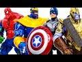 Thanos  Family~ Avengers Superhero Toys Appeared Transform Stop Thanos #Toymarvel