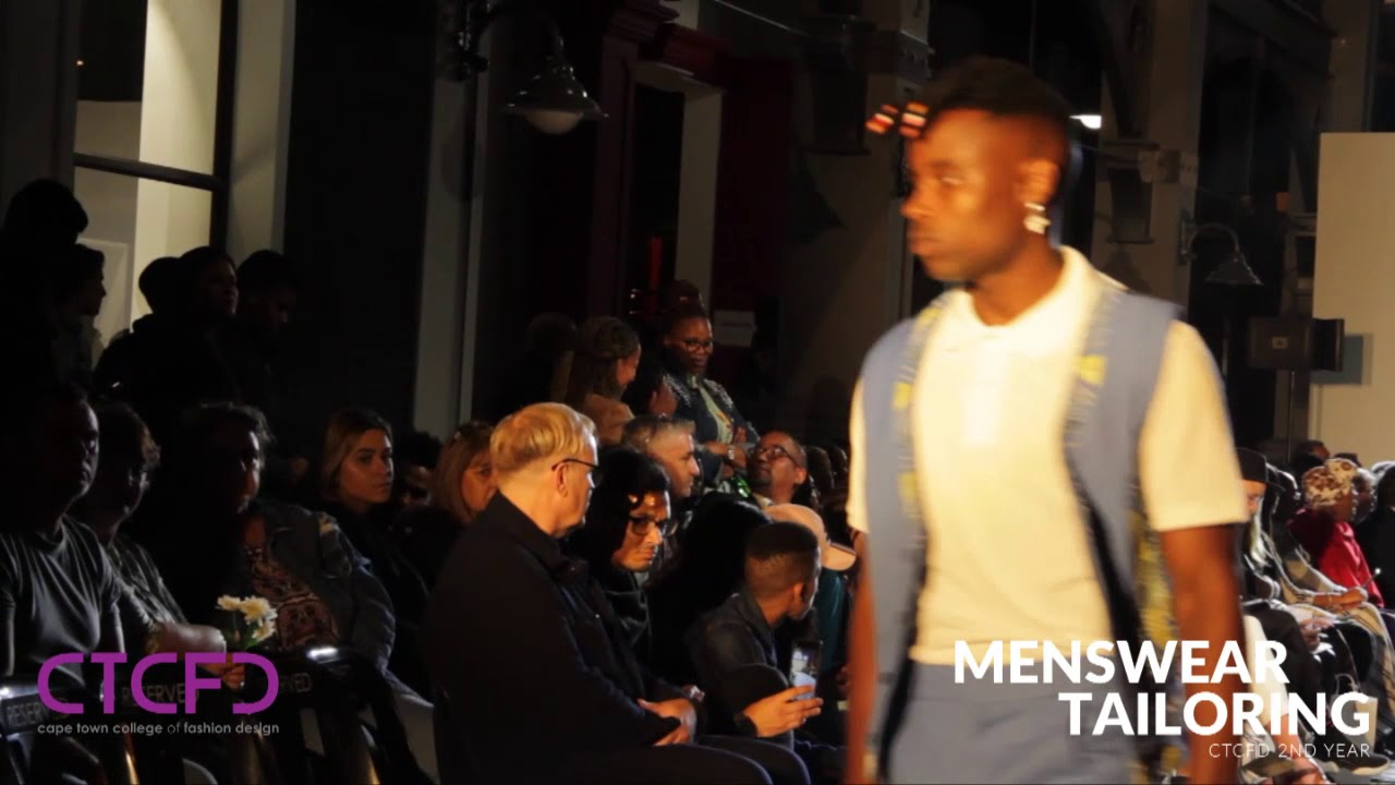 Menswear Tailoring 2nd Year Ctcfd Annual Fashion Show 2018 Youtube