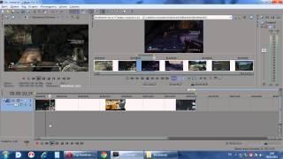Видеоуроки по работе в Sony Vegas Pro 10.0 Часть-1:Осваиваемся