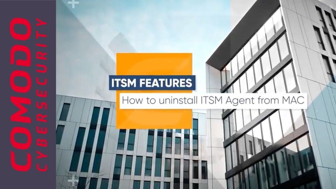 How to uninstall ITSM Agent from MAC