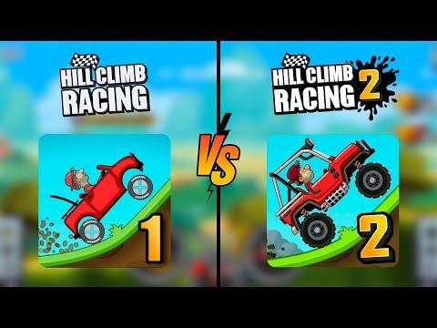 Hill Climb Racing 2 VS Hill Climb Racing 1 (What do you like more?)  