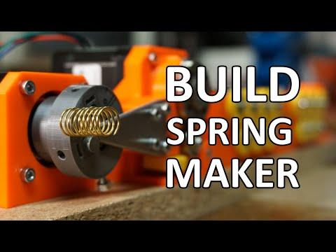 DIY 3D-printed Wire Bending Machine