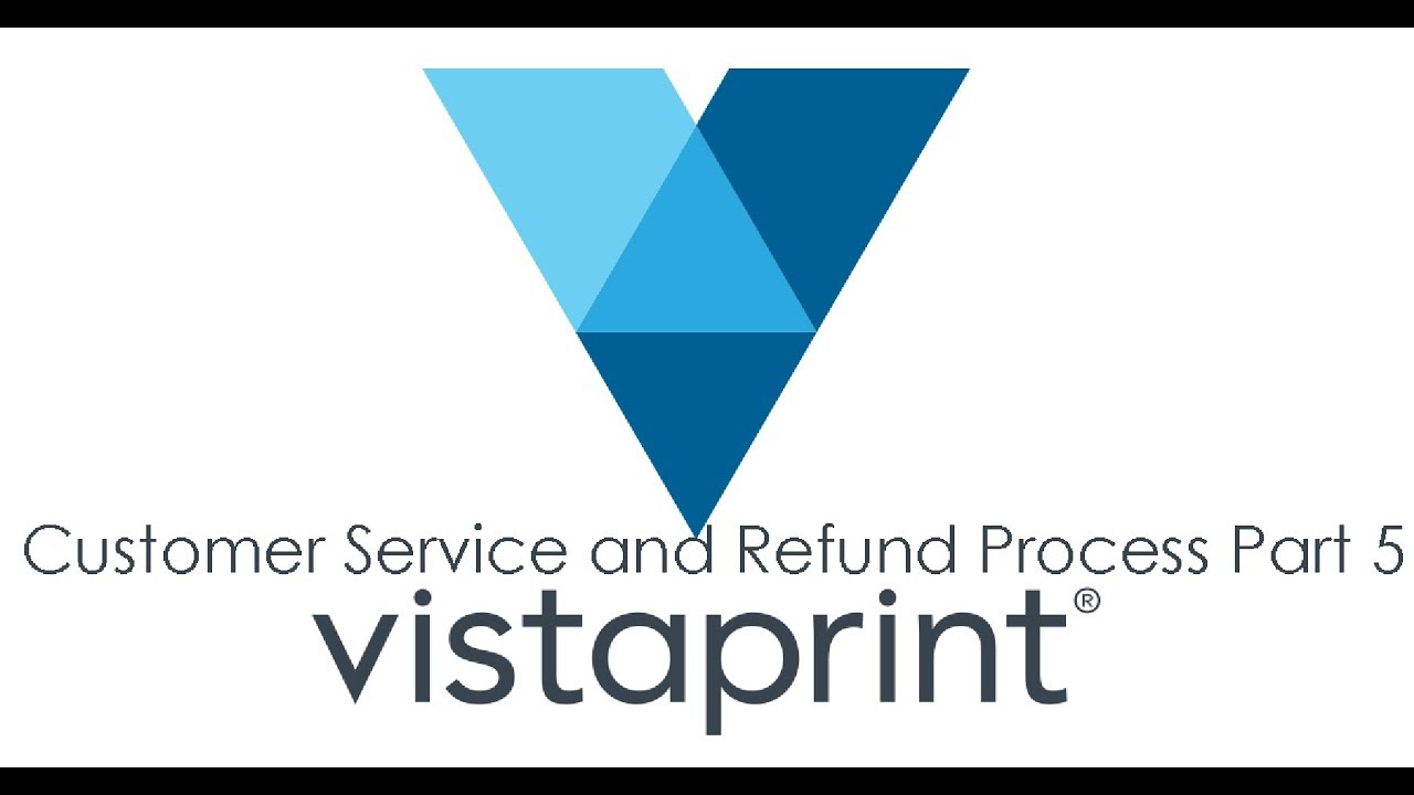 Vistaprint Experience Part 4 | Customer Service and Refund Processing | 4K