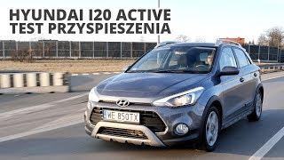 Hyundai i20 Active 1.0 T-GDI 100 KM (MT) - acceleration 0-100 km/h