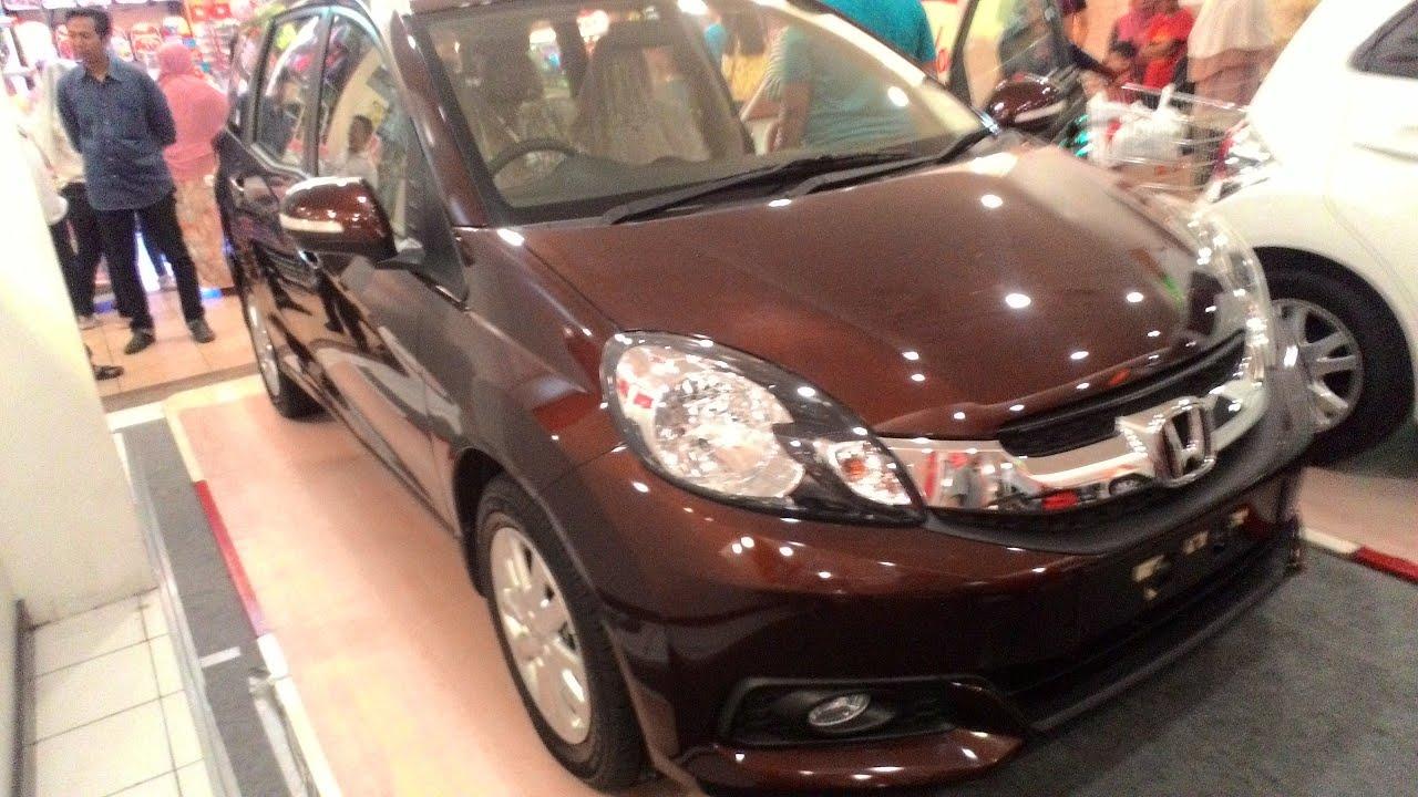 Honda Mobilio E Ionized Brown Metallic Colors - Interior Exterior