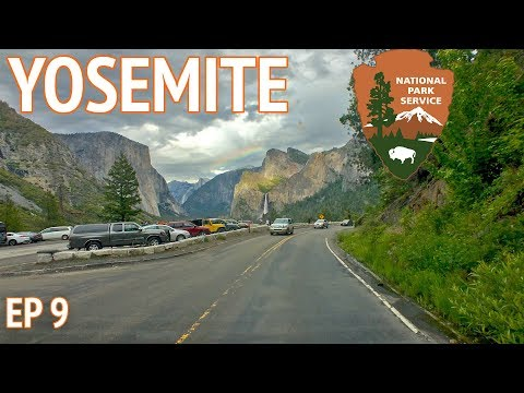 Yosemite National Park + Camping at Upper Pines in Yosemite Valley
