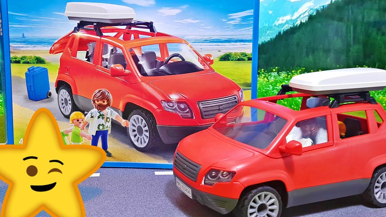playmobil rotes familienauto suv van 5436 spielzeug empfehlung youtube. Black Bedroom Furniture Sets. Home Design Ideas