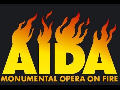 Lviv Philharmonic Orchestra - G.Verdi-AIDA - Monumental opera on Fire. Walter Haupt (conductor).2006