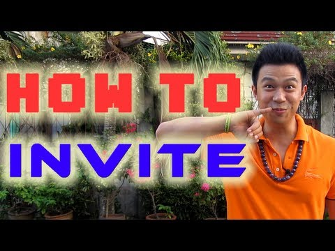 JESTER - How to invite prospects