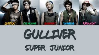 Super Junior Gulliver Lyrics