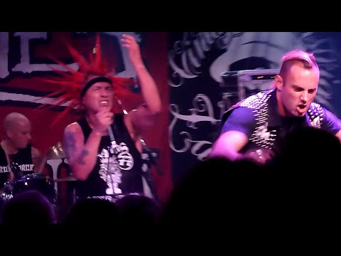 THE CASUALTIES - Fight For Your Life - Zagreb - Vintage Industrial Bar 22.09.2015