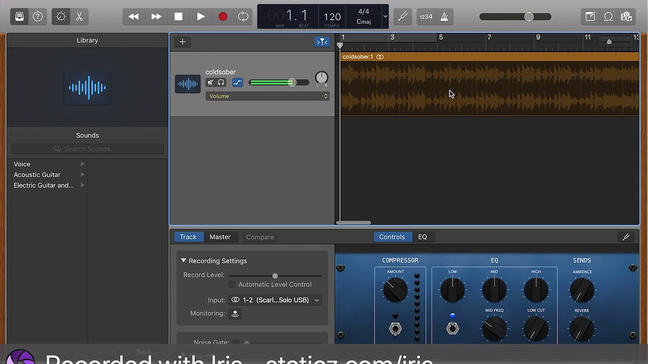 Garageband Fade In Garageband How To Fade In Or Fade Out Audio 2018 Tutorial Updated
