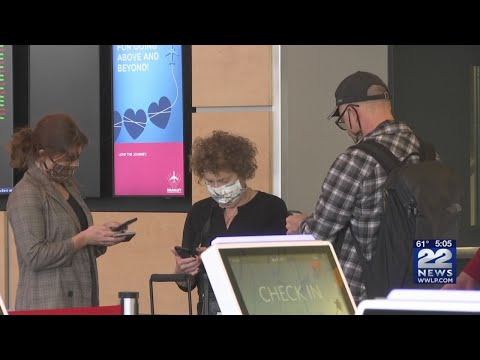 Coronavirus impact on air travel at Bradley International Airport