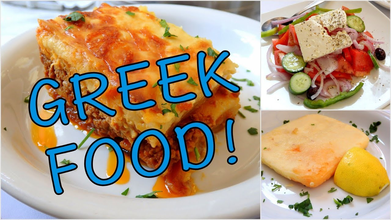 What Kind Of Food To Eat In Greece