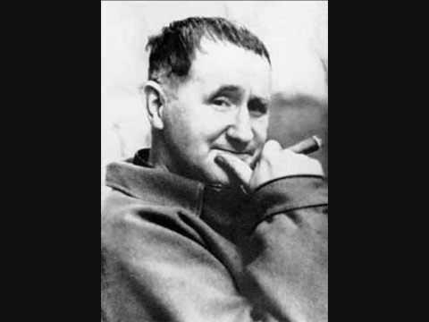 Bertolt Brecht - Das Lied von der Unzulänglichkeit des menschlichen Strebens