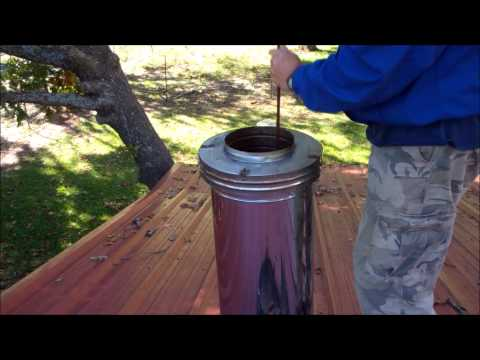 DIY Chimney Sweeping ~ Clean Your Own Chimney