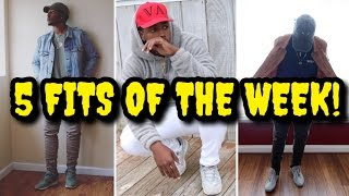 5 FALL FITS! THIS WEEKS OUTFIT ROTATION