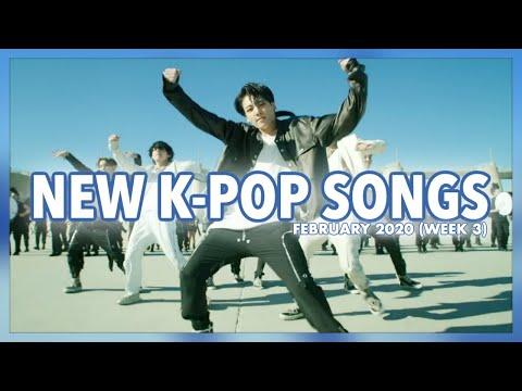 New K-Pop Songs
