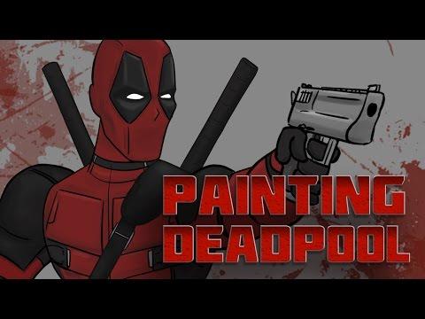 Painting Deadpool - Behind the Scenes