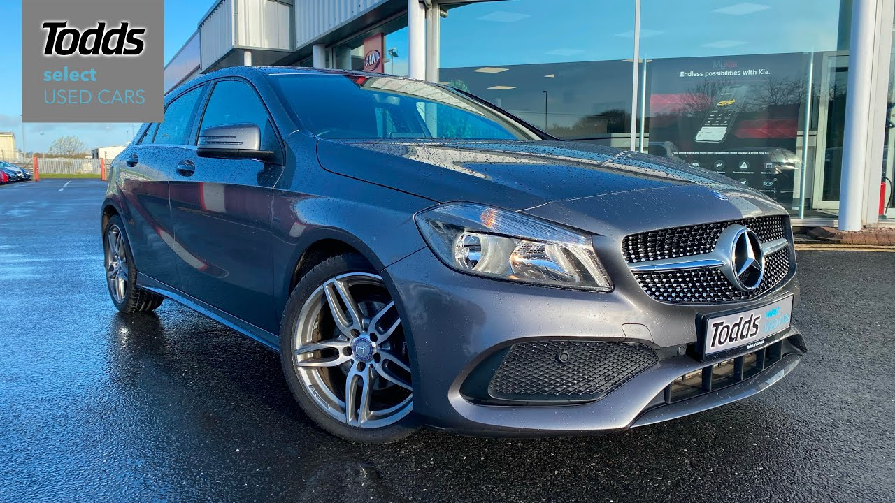Mercedes Benz A Class A 200 D Amg Line In Grey 17 450